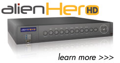 aleinHero HD DVR features