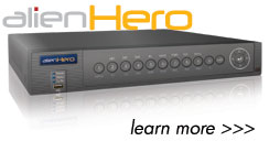 aleinHero DVR features